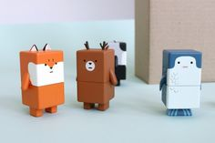 New Japanese toy concept Suwappu - characters with multiple expressions and species that can be combined in lots of ways. From the Dentsu London agency.
