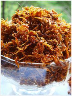 DapurKu SaYang: Serunding Daging Pork Recipes, Asian Recipes, Cooking Recipes, Ethnic Recipes, Java, Indonesian Cuisine, Indonesian Recipes, Malay Food, Low Calorie Dinners