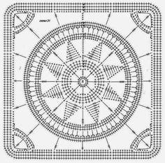 Tante Tal: Ster in een vierkantje patroon vertaling