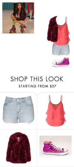 """Soy Luna"" by julia-clv ❤ liked on Polyvore featuring Topshop, Doublju and Haute Hippie"
