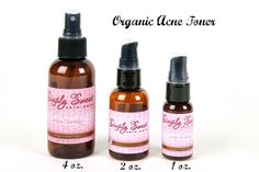 Sweet Face Minerals Inc. - Acne Therapy Toner, $14.99 (http://sweetfaceminerals.com/acne-therapy-toner/)