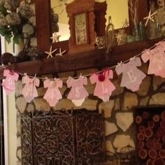 Cute little baby shower banner