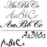 Examples of Script and Handwriting typefaces.  | <a href='/od/glossarytype'>Type & Fonts</a> | Alpha Index of Full Glossary:
