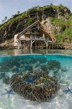 Misool eco resort Indonesia #travel #travelphotography #travelinspiration #indonesia
