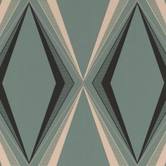 Deco Diamond Green