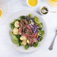 Rare Roast Beef Salad