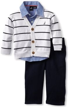 Amazon.com: Nautica Sportswear Kids Baby-boys Infant Sweater Set: Clothing
