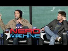 """Supernatural"" Highlights: Conversation with the Cast - Nerd HQ (2013) HD - Jared Padalecki - YouTube"