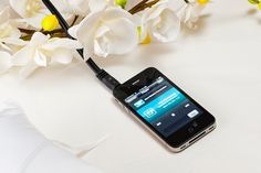 Save money on the DJ w/ a Wedding DJ App. Way to budget an area not important to you :) - weddingsabeautiful