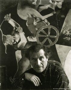 1942 | Arnold Newman, Ritratto di Marc Chagall