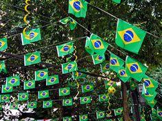 Rua Enfeitada para a Copa - Copa do mundo - Futebol - Mundial - World Cup - Enfeite - Copa - Flamengo - Rio de Janeiro - Brasil - Brazil by Leonardo Martins, via Flickr