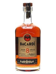 Bacardi 8 Year Old - Carta Ocho : The Whisky Exchange Rum Bottle, Whiskey Bottle, Golden Rum, Sugarcane Juice, British Slang, Bacardi Rum, Ron, 8 Year Olds, Whisky