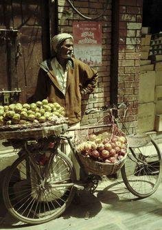 Vendedor de Frutas Nepal