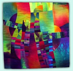 Melody Johnson: Art Quilts - Galleries - Geometric Abstractions 1