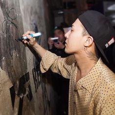 a little about G-Dragon~ Daesung, Bigbang Yg, Bigbang G Dragon, Sing And Songwriter, G Dragon Instagram, Bigbang Wallpapers, Winner Ikon, Ikon Junhoe, Yg Artist