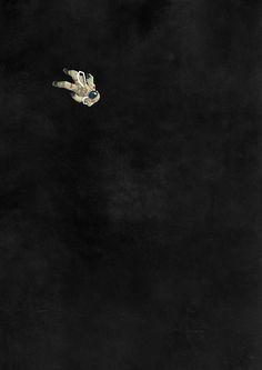 """""""Alone"""", la soledad a través de las ilustraciones de Belhoula Amir"""