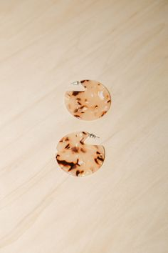 Blush Tortoise Clare Earrings