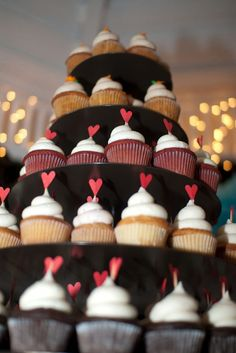 Cupcake topper. diy-backyard-wedding-46