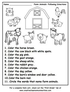 Farm Animals Coloring Pages Pdf Luxury Pin by Cattle Empire On Agriculture Educa. - Farm Animals Coloring Pages Pdf Luxury Pin by Cattle Empire On Agriculture Education - Animal Worksheets, Preschool Learning, Kindergarten Worksheets, In Kindergarten, Farm Animals Preschool, Preschool Farm Theme, Science Worksheets, Farm Animals For Kids, Farm Animal Crafts