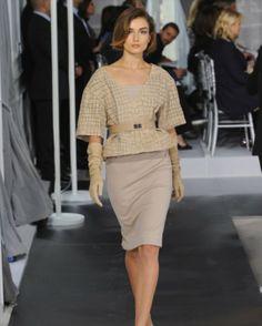 Christian Dior : Haute couture Printemps-été 2012.