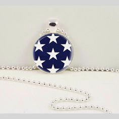 Shine bright with this star pendant.