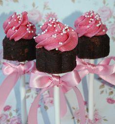how to Cake pops cupcake (Villa Perlesukker)