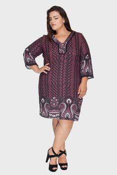 Vestido Plus Size 12