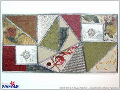 Decorado con estaño por Clara.              #manualidades #pinacam #estaño #aluminio  www.manualidadespinacam.com