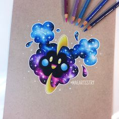 Cosmog ✨ ________ Connect with me ↓ ‣ Youtube • https://youtu.be/MDDNy8seQHY ‣ instagram.com/maeartistry ‣ facebook.com/marilynmaeart ‣ twitter.com/maeartistry ‣ maeartistry.tumblr.com