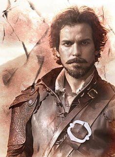 Santiago Cabrera - Aramis - The Musketeers - BBC