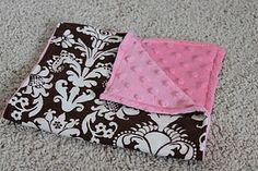 DIY Burp Cloths- I am so making these!