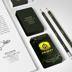 Let @inkgility do all your branding work ... #Foil #BusinessCards from @inkgility