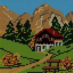 How to Create a Cross-Stitch of a Picture Using Adobe Illustrator and Phantasm CS - Astute Graphics Cross Stitching, Cross Stitch Embroidery, Hand Embroidery, Cross Stitch Patterns, Hexagon Quilt Pattern, Quilt Patterns, Plastic Canvas Crafts, Plastic Canvas Patterns, Perler Bead Templates