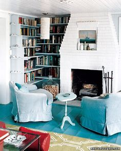 25 Coastal Rooms in Bold Colors
