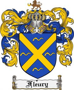 fleury family   Fleury Coat of Arms Fleury Family Crest Instant Download - for sale, $ ...