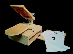 DIY T-shirt Heat Press and Screen Printer using a griddle! by Joe Whiteside, via Kickstarter.