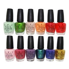 OPI Lacquer Nail Polish Hawaii Collection