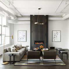 In this downtown Toronto loft reimagined for clients by Ryan Martin and Amy Kent ofCroma Design Inc., the catalyst for the renovation was, of all things, a broken-down dishwasher. It had been installed in such a way that getting a replacement meant tearing up the existing hardwood floors, which led to an all-out refresh of the home's late 90s color palette. Annie'After' photography byDonna Griffith, except where noted. Styling by Christine Hanlon.