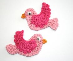 aves, crochet, and idea image