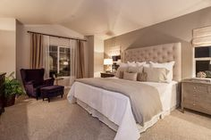 Top 100 Neutral Bedroom Ideas for couples master bedroom . - Top 100 Neutral Bedroom Ideas for couples master bedroom . Master Bedroom Design, Dream Bedroom, Home Decor Bedroom, Master Bedrooms, Modern Bedroom, Bedroom Ideas Master For Couples, Diy Bedroom, Beige Bedrooms, Beautiful Bedrooms For Couples