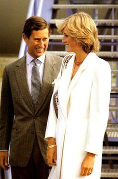 Prince Charles & Princess Diana