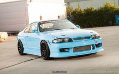 Baby Blue R33 GTST on XXR 527s - XXR Wheels Nissan Skyline Gtr R33, Skyline R33, Classic Japanese Cars, Nissan Infiniti, Jdm Cars, Ford Gt, Garage Ideas, Custom Cars, Rally