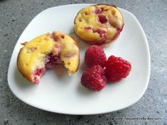 Raspberry and Yogurt Muffins (Grain-free) Recipe