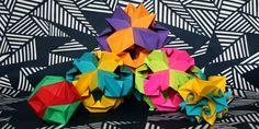Esferas de Origami - Origami Spheres