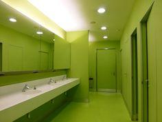 Caixa Forum Toilets, Herzog & de Meuron. Madrid
