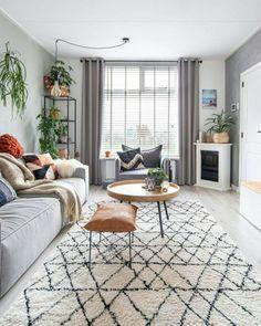 Decor Home Living Room, Boho Living Room, Small Living Rooms, Living Room Designs, Home Decor, Living Room Pictures, Cozy House, Modern Decor, Decorative Pillows