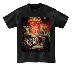 GILDAN Unisex Fashion T Shirt T-shirt - Poker Night Doberman , Rottweiler , Bulldog , &. Brand Name: GILDANStyle: FashionSleeve Length(cm): ShortMaterial: CottonCollar: O-NeckSleeve Style: RegularPattern Type: PrintHooded: NoFabric Type: BroadclothItem Type: TopsTops Type: TeesGender: Men
