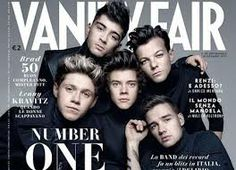 One Direction on Vanity Fair