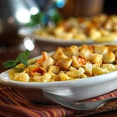 Lobster Mac and Cheese with Capers