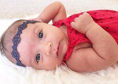Pre Order VICTORIA NAVY lace headband Crown Baby Lace Headband, Baby Crown Headband, Crown Headband, Boho Headband, Halo Headband by SparklingLilac on Etsy https://www.etsy.com/listing/454419644/pre-order-victoria-navy-lace-headband